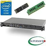 PC Hardware : Supermicro 5018D-FN4T Xeon D 8-Core Front 1U Rackmount,Dual 10GbE w/ 32GB, 512G M.2 SSD