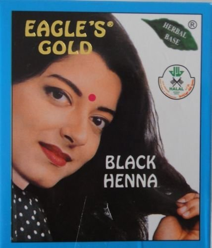 Buy 4 Boxes 10gm X 6pcs Eagle S Gold Black Henna Hair Colour