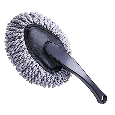 Multi-functional Car Duster Cleaning Dirt Dust Clean Brush Dusting Tool Mop Gray car cleaning products Brand New: Automotive