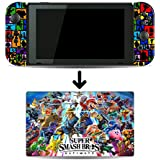 Super Smash Bros. Ultimate SSBU SSB5 Game Skin for Nintendo Switch Console and Dock 100% Satisfaction Guarantee
