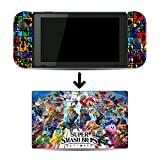 Super Smash Bros. Ultimate SSBU SSB5 Game Skin for Nintendo Switch Console and Dock