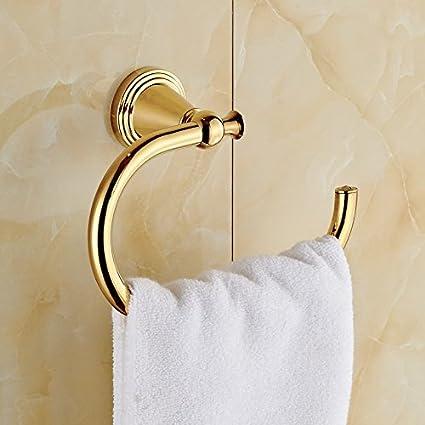 bath towel hook. Rozinsanitary Gold Finish Wall Mounted Towel Hook Bath Ring Rack Bath Towel Hook I