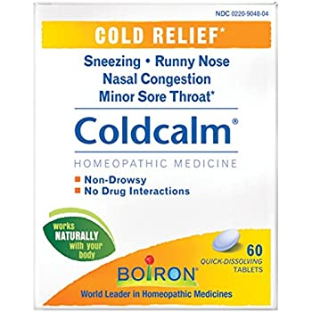Amazon.com: Boiron Coldcalm Cold Relief Quick Dissolving ...