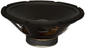 """Goldwood Sound Dual Voice Coil 12"""" Replacement Speaker Woofer Black (GW-412D)"""