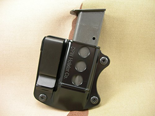 Double Stack Tuckable IWB Mag Pouch. Fits 9mm, 40 Cal, 45 ACP. (Sig Sauer P226, P229) ()