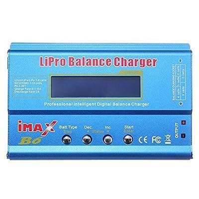 SODIAL(R) iMAX B6 LCD Screen Digital RC Lipo NiMh Battery Balance Charger + AC Adapter New