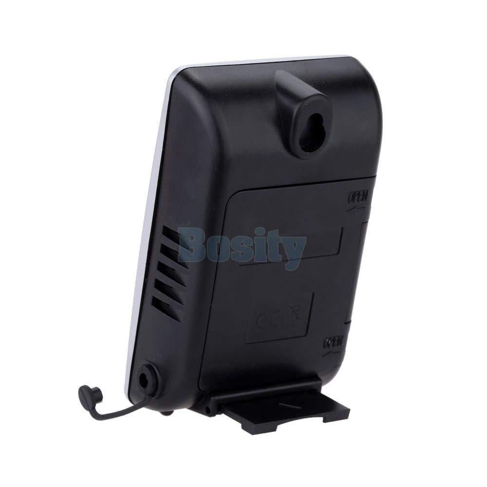 FidgetFidget LCD Display TS-H127G Wireless Weather Alarm Thermometer Hygrometer Humidity