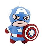 Hallmark Marvel Super Hero Chibi Style Christmas Ornament (Captain America)