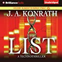 The List Audiobook by J. A. Konrath Narrated by Benjamin L. Darcie