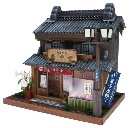 Internal structure of the 8614 Billy handmade Dollhouse Kit Road Series Road Kawagoe Kawagoe (japan import) by Billy 55
