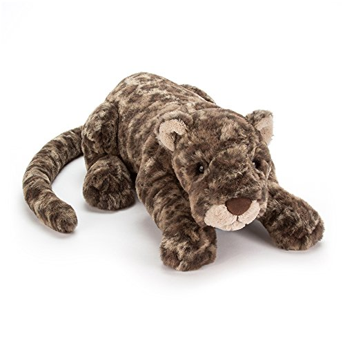 London Leopard - Jellycat Lexi Leopard Stuffed Animal, 19 inches