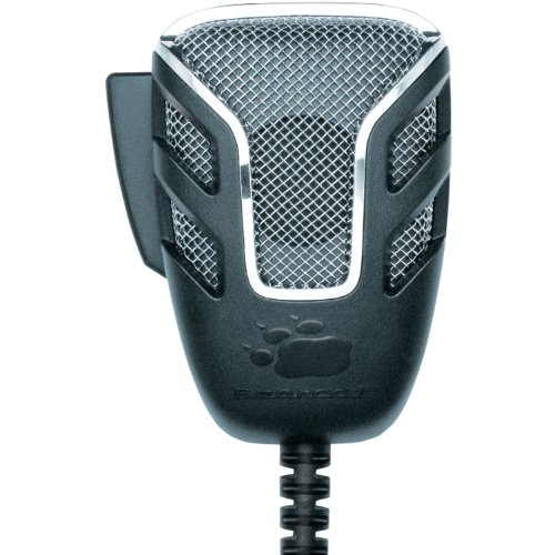 Uniden BC804NC 4-Pin Noise-Canceling Microphone replacement for CB Radios, Comfortable Ergonomic Design, Rugged Construction, Clear Quality Sound, Built for the Professional Driver