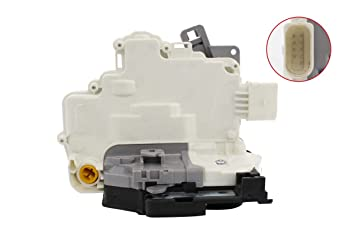 New Front Right Driver Side Door Lock Actuator Mechanism O//S For A4 B8 1.8 2.0 2.7 3.0 3.2 quattro A5 Q3 Q5 Q7 TT Roadster 2.5 Coupe 8J2837016A 8J2 837 016 A