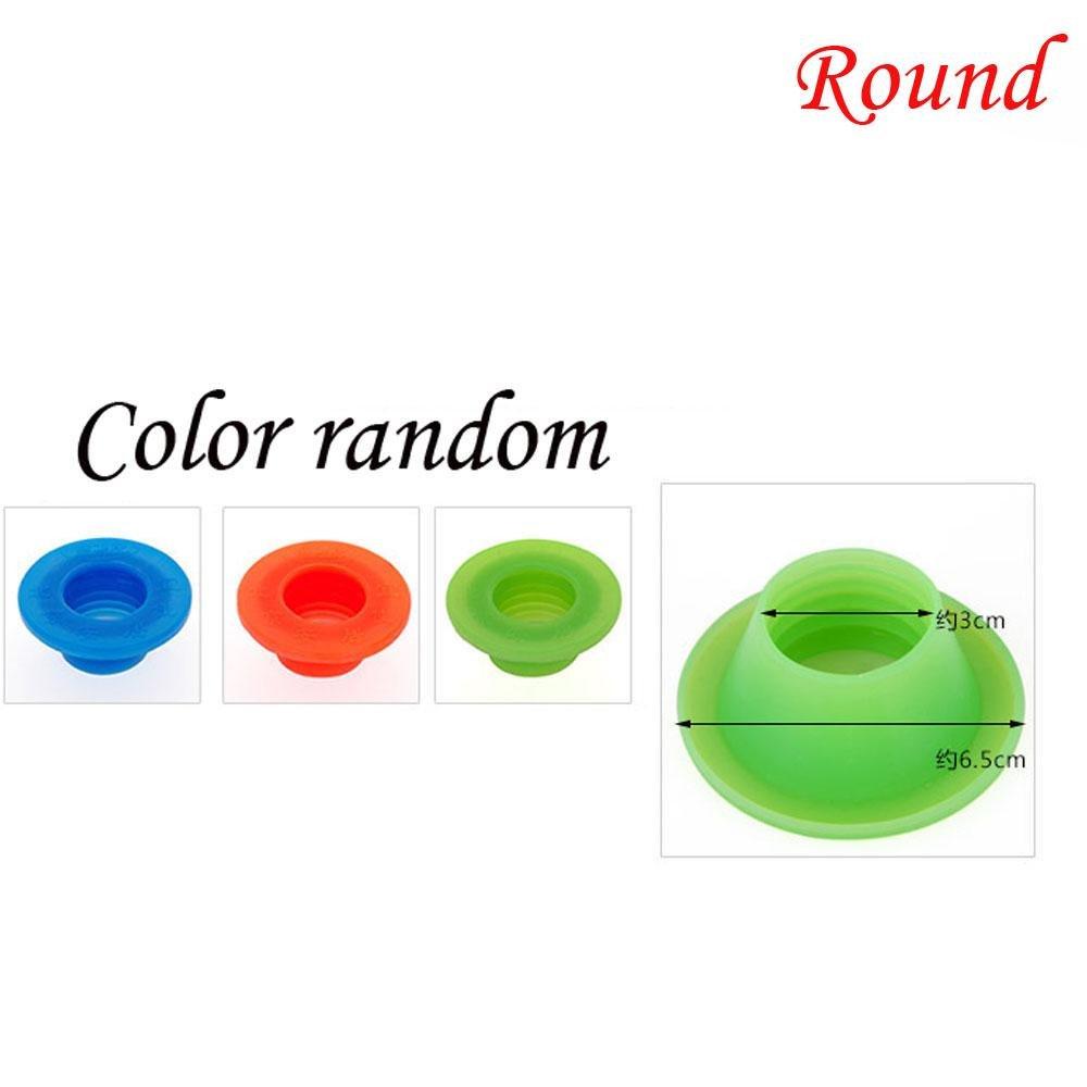 Kuuans 1PC Color Random New Washing Machine Deodorant Sealing Plug Sewer Pipe Gel Seal Ring Pool Floor Drain Silicone