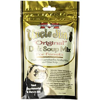 Marshall Uncle Jimâ€s Original Duk Soup Mix 4-1/2-Ounce Small Animal Dietary Supplement