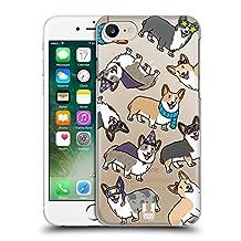 Head Case Designs Corgi Dog Breed Patterns Hard Back Case for Apple iPhone 6 / 6s