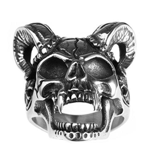 mens devil ring - 1
