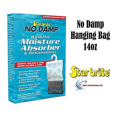 - Star Brite No Damp Hanging Moisture Absorber & Dehumidifier 14oz 85470 RV Boat