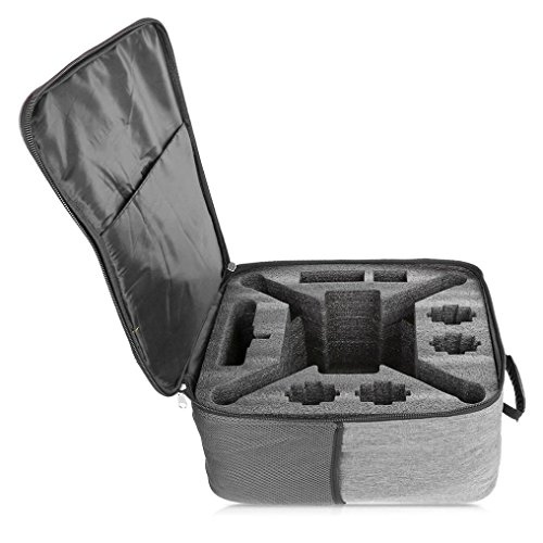 Dreamyth Outdoor Shockproof Backpack Shoulder Bag Soft Carry Bag For XIAOMI Mi Drone 4K 1080P FPV RC Quadcopters (glay) by Dreamyth