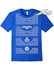 Tshirt Ruler,T Shirt Alignment Tool ,DurableT-Shirt Ruler Guide to Center Designs for Vinyland TshirtIncluding Adult Youth Toddler Infant Ruler