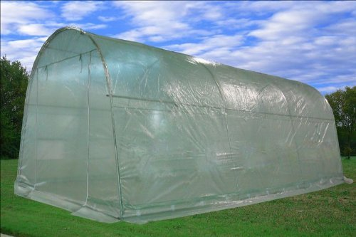 DELTA Canopies - Large Heavy Duty Green House Walk in Greenhouse Hothouse 20' X 10' 125 Pounds by DELTA Canopies  (Image #7)