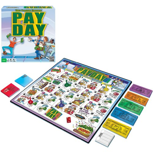 instructions for the board game payday - 3