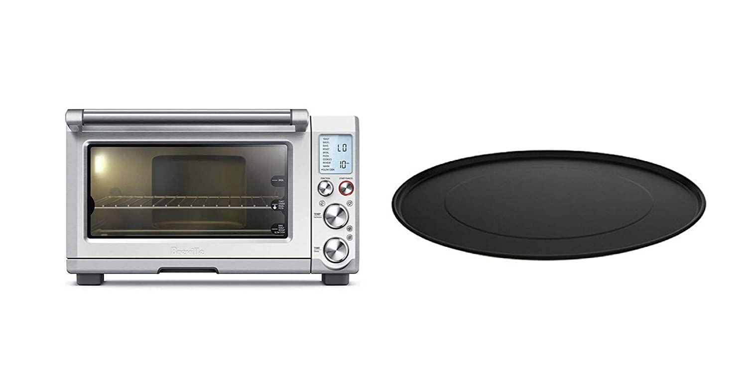 Breville Smart Oven Pro Convection Toaster with Element IQ Stainless Steel and 13-inch Pizza Pan, Bundle