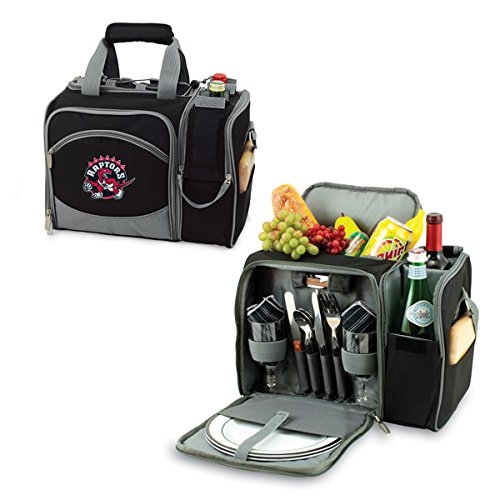 12 Can NBA Malibu Picnic Cooler Color: Black, NBA Team: Toronto Raptors by PICNIC TIME