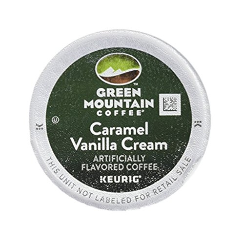 Green Mountain Caramel Vanilla Cream, Single Serve Coffee K-Cups, 48-Count For Brewers