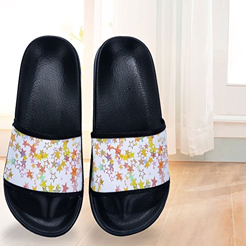 Slippers Mens Slip Colorful Drying Buteri Quick Stars Non B Womens Slippers Shining 7xvXBXw8