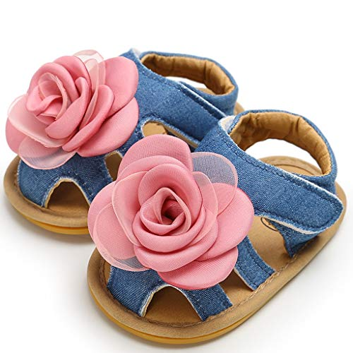 Tronet Toddler Sandals Boys/Girls Baby Girls Shoes Rose Cuty Pricess Fashion Toddler First Walkers Kid Shoes