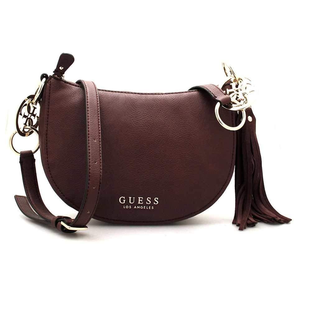 Guess Maroon Handbag