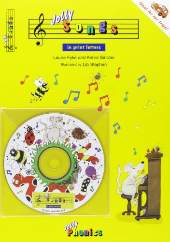 Jolly Songs: Book & CD in Print Letters (American English Edition) (Jolly Phonics) Paperback – January 1, 2005