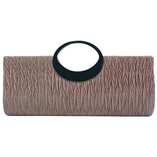 Light Black Ladies Wedding Bag Clutch Handbag Coffee Silver wocharm Diamante Formal Glittery Evening Wonderful tg7Uq7