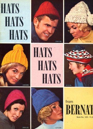 Bernat Hat - Hats from Bernat Handicrafter Book No. 165