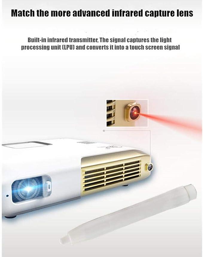 Miss de a LED Proyector, interactivos Mano Texto óptica de ...
