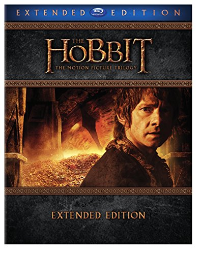Blu-ray : The Hobbit: The Motion Picture Trilogy (Gift Set, Ultraviolet Digital Copy, Extended Edition, 3 Pack, 3 Disc)