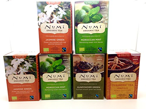 Numi Assortment Comprising Moroccan Gunpowder