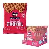 Dutch Caramel Stroopwafel 8 Pack by Belgian