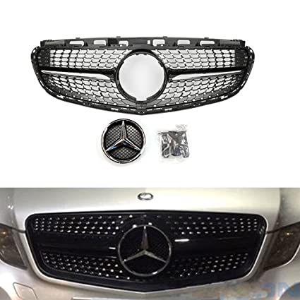 grille front benz hood how mercedes ml to upgrade grill class