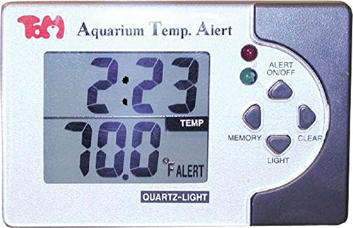 KollerCraft TOM Temp Alert Digital Thermometer for Aquariums