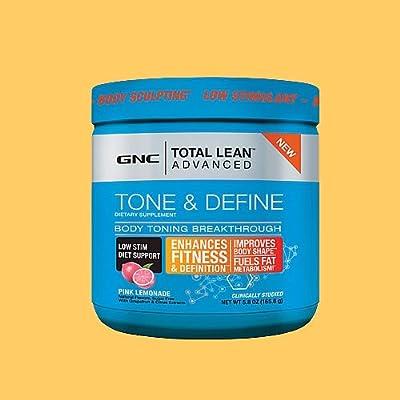 GNC Total Lean Advanced Tone Define - Pink Lemonade 165.6 g