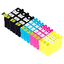 12 Pack Compatible Epson 127 3 Black, 3 Cyan, 3 Cyan, 3 Yellow for use with Epson Stylus NX530, Stylus NX625, WorkForce WF-7010, WorkForce WF-7510, WorkForce WF-7520, WorkForce WF-3520, WorkForce WF-3540, WorkForce 60, WorkForce 545, WorkForce 630, WorkForce 633, WorkForce 635, WorkForce 645, WorkForce 840, WorkForce 845. Ink Cartridges for inkjet printers. T1271 , T127120 , T1272 , T127220 , T1273 , T127320 , T1274 , T127420 © Zulu Inks