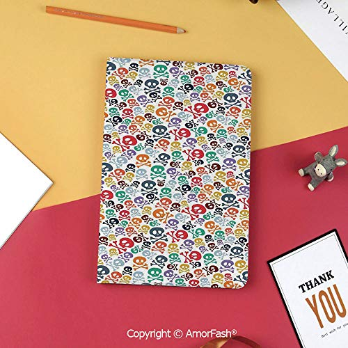 for Galaxy Tab S3 9.7,TPU Silicone Case for Samsung Galaxy Tab S3 T820 / T825,Skulls Decorations,Halloween Theme Colorful Skulls and Crossbones]()