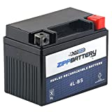 Chrome Battery 4L-BS High Performance Power Sports Battery (YTX4L-BS)