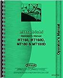 Mitsubishi MT160D Tractor Operators Manual
