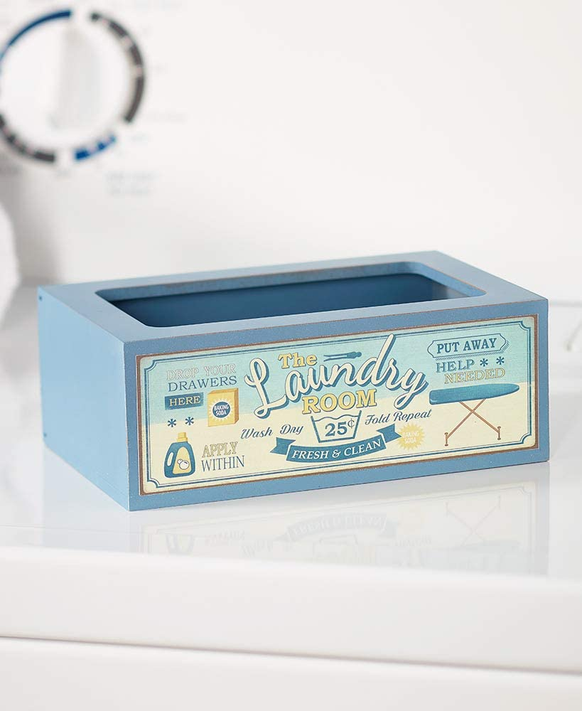 The Lakeside Collection Laundry Softener Dispenser Cover with Vintage Style - Fresh & Clean