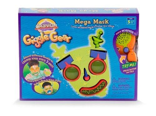 Costume Alien Robot (Cranium Giggle Gear Mega Mask with Robot, Bug, and Alien)