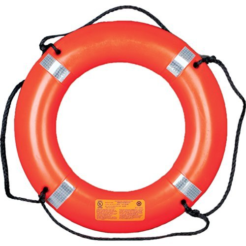 1 - Mustang 30'' Life Ring w/Tape - Orange by Mustang Survival