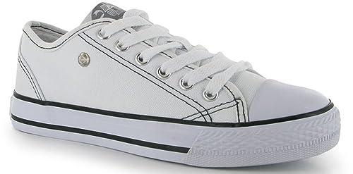 Dunlop - Zapatillas para mujer Talla única, color Blanco, talla 38: Amazon.es: Zapatos y complementos